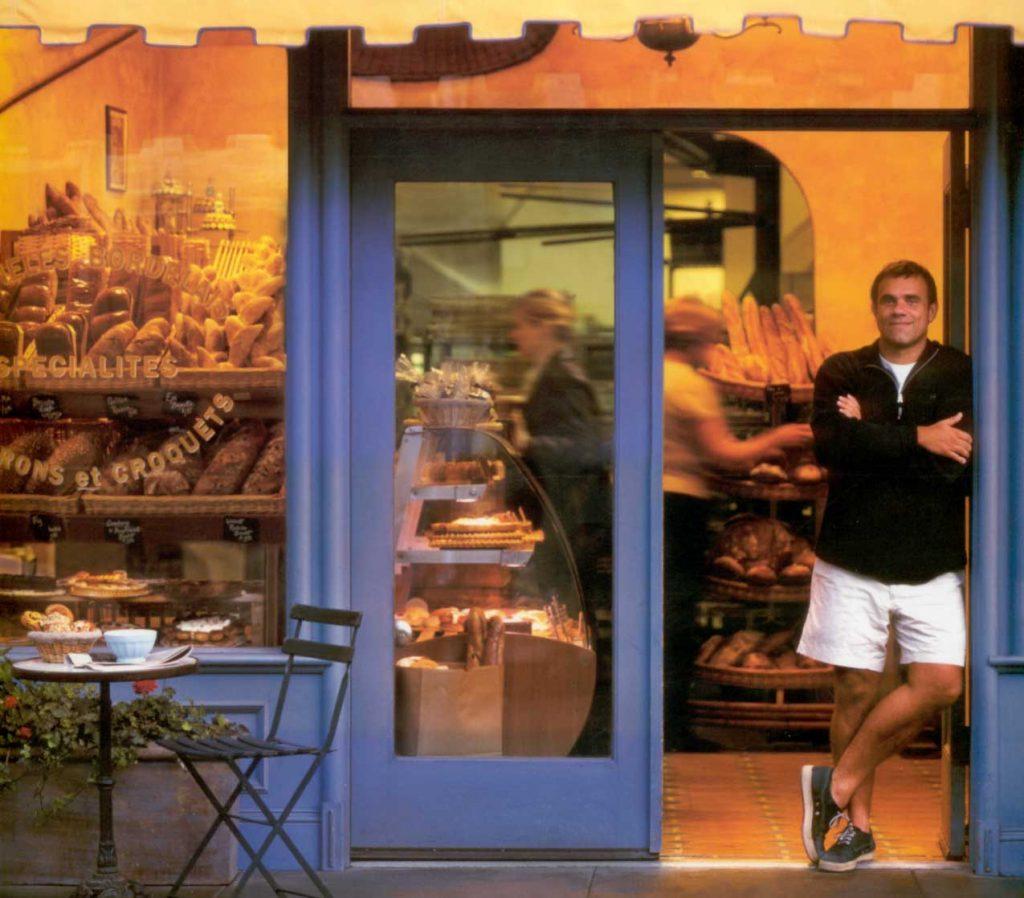 Pascal Rigo at Boulangerie Bay Bread on Pine Street in San Francisco.