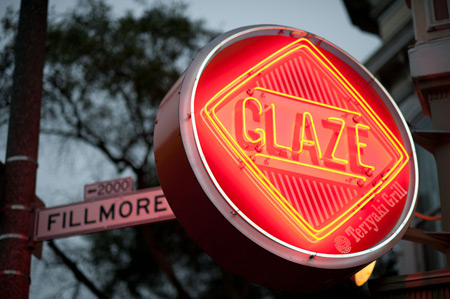 Photographs of Glaze at 1946 Fillmore by Daniel Bahmani