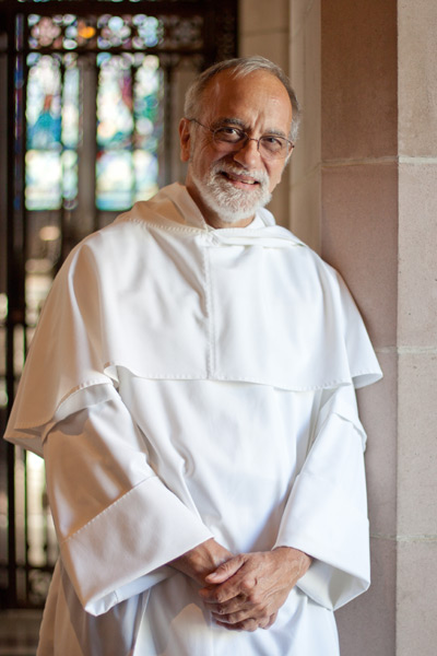 Photograph of Father Xavier Lavagetto by Kathi O'Leary