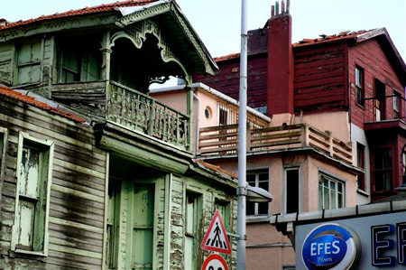 Rows of wooden konaks are prized remnants of Ottoman domestic architecture.