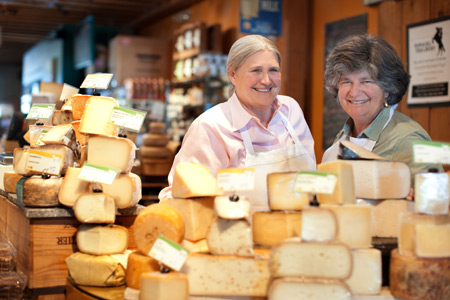 Peggy Smith and Sue Conley opened Artisan Cheese in 1999.