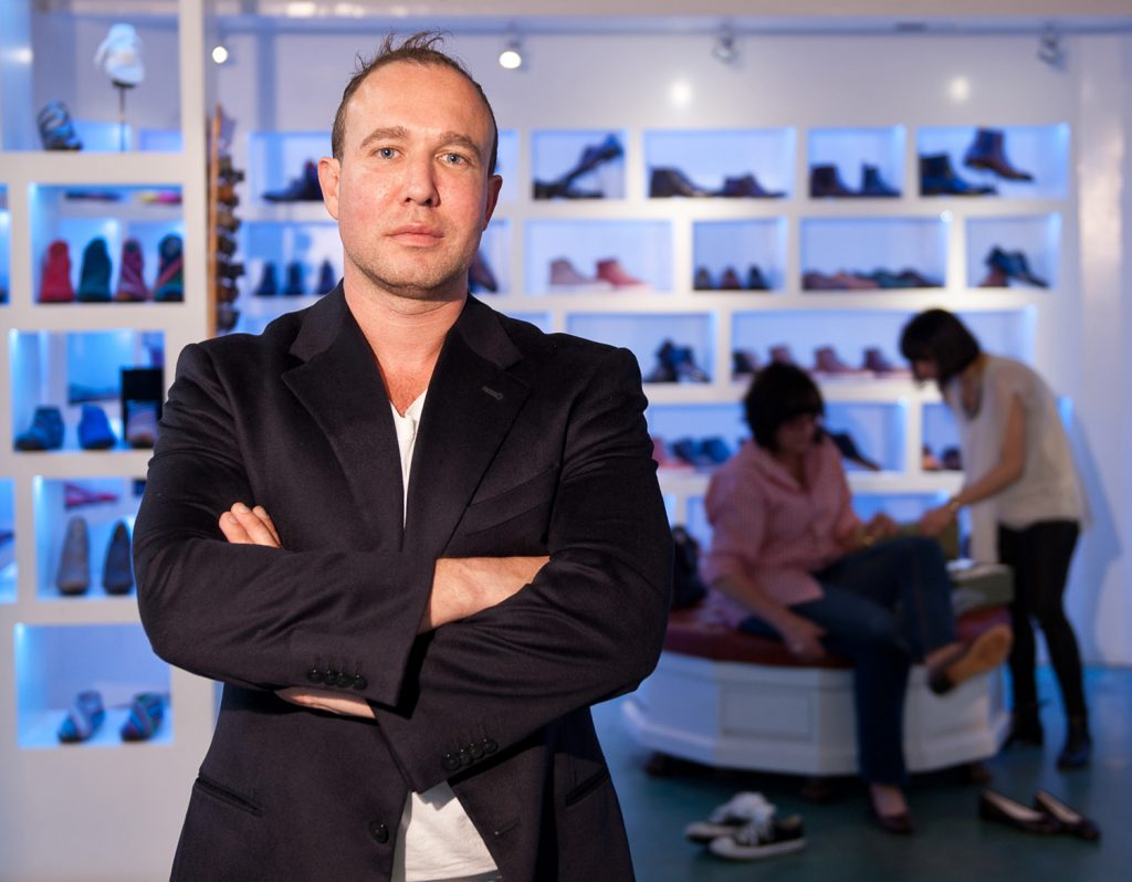 Photograph of Paolo Iantorno, owner of Paolo Shoes, by Daniel Bahmani