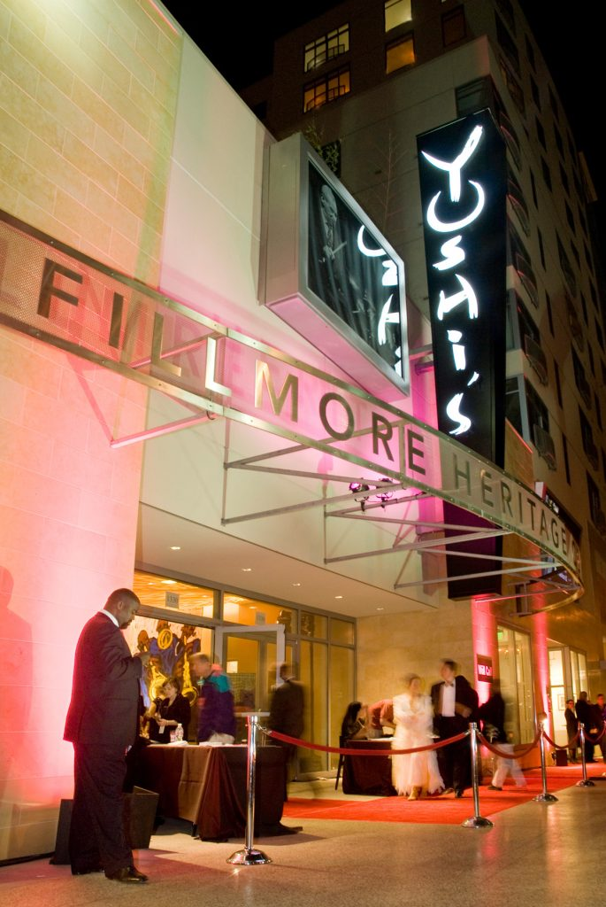 Photograph of opening night at Yoshi's on November 27, 2007, by Mina Pahlevan