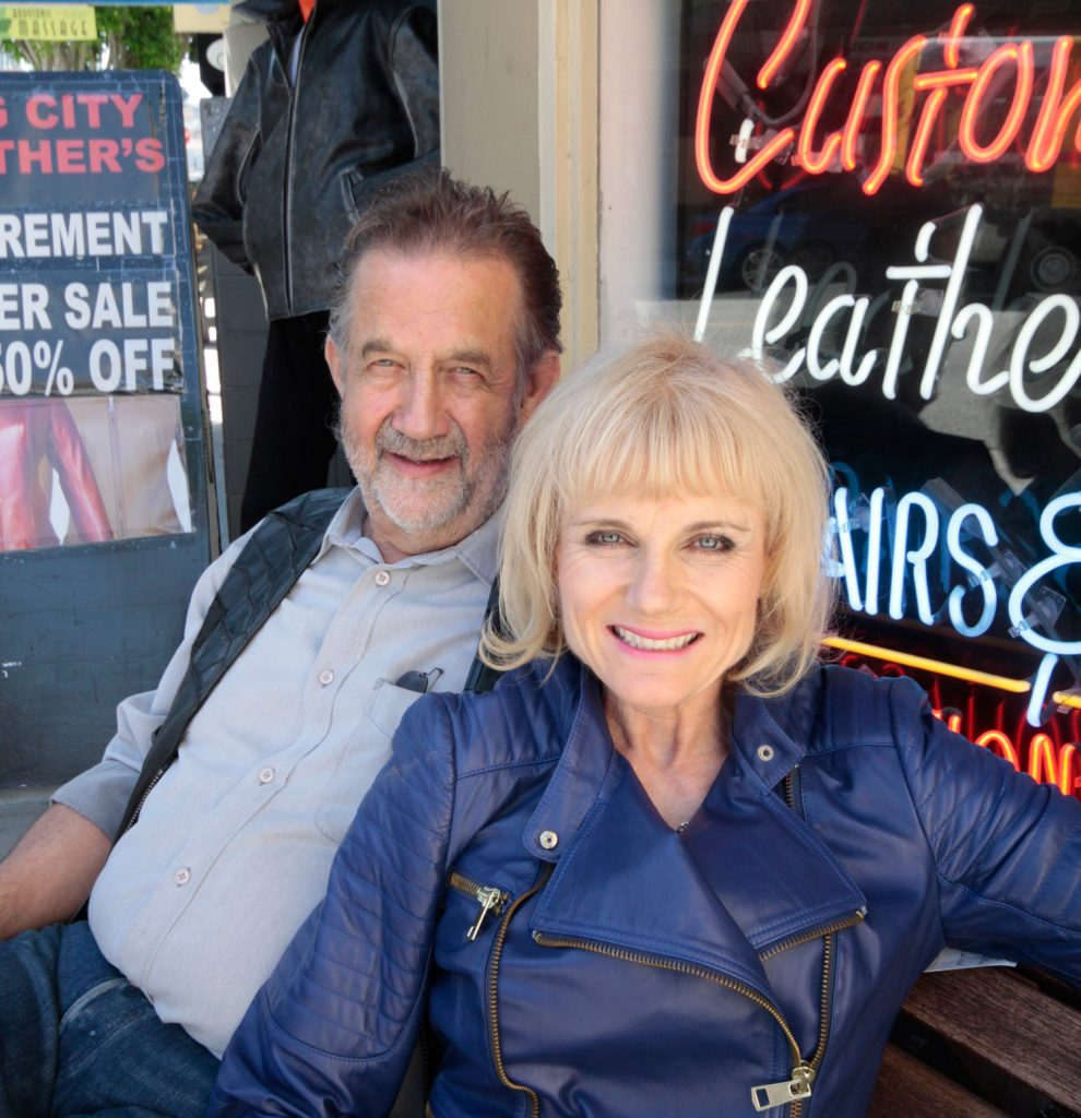 Photograph of Peter James and Susanne Rundberg by Susie Biehler