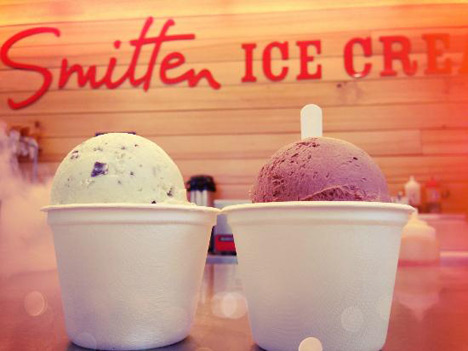 Smitten Ice Cream Fillmore hip ice cream shop on the way | the new fillmore