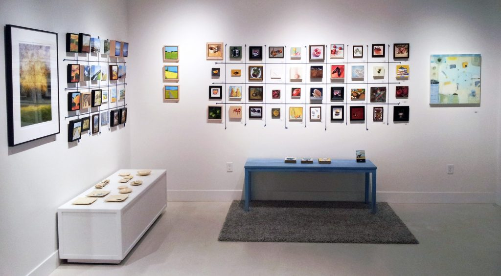 "Studio Gallery's ""Tiny"" show includes more than 300 works, most no larger than 7x7 inches."