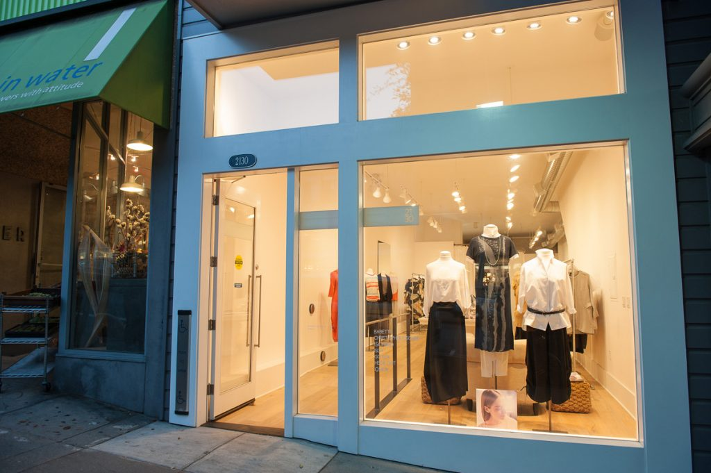 The 2130 boutique at 2130 Fillmore, formerly Jet Mail.