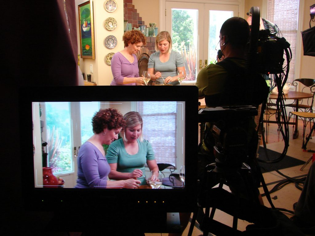 Joanne Weir's cooking shows on PBS are filmed in her home kitchen on Pine Street.
