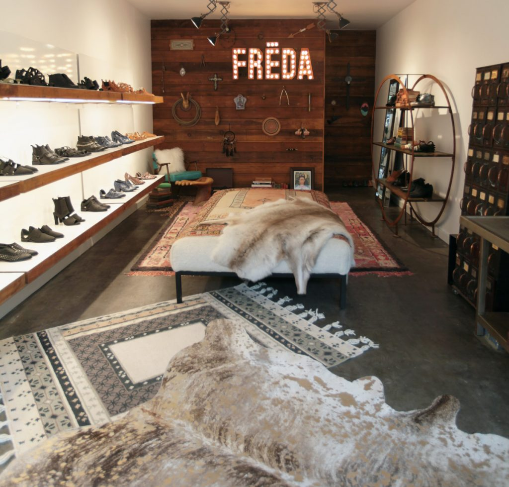 Photograph of Freda Salvador, at 2416 Fillmore, by Melissa McArdle