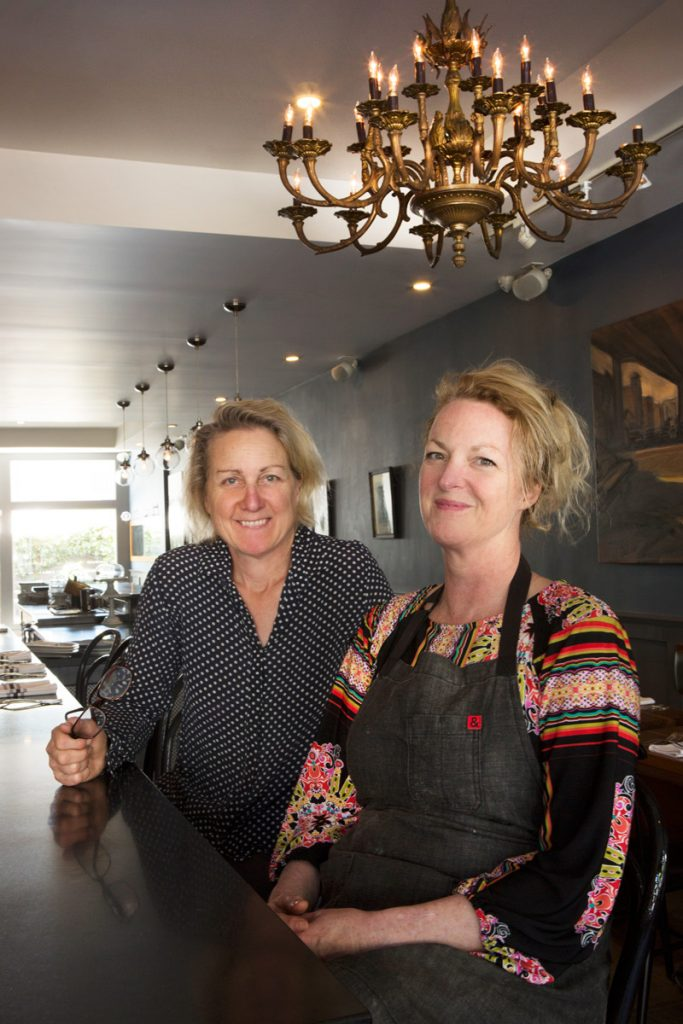 Margie Conard (left) and Dana Tommasino are opening Gardenias at 1963 Sutter Street.