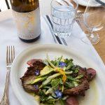 Gardenias_steaksalad