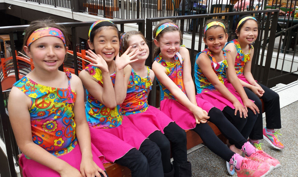 At Nagata Dance, students learn not only to dance, but also to perform — sometimes on location.