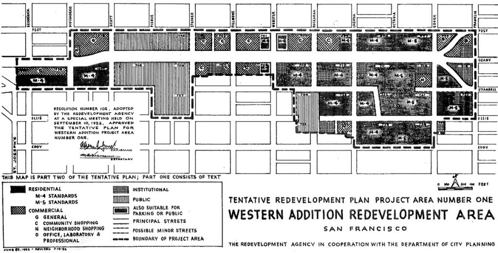 The much-reviled A-1 redevelopment plan from the 1960s