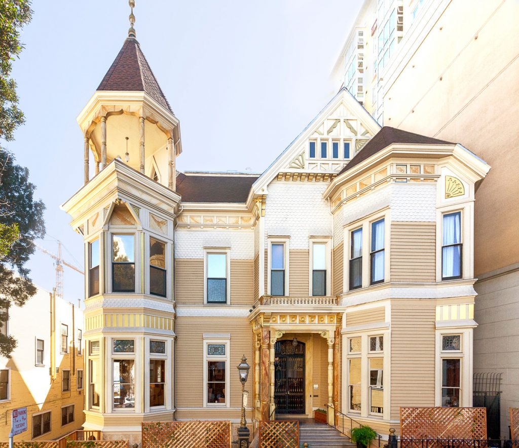 Now 1409 Sutter houses the boutique Payne Mansion Hotel, with 10 guest rooms.