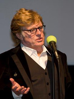 Redford at the Kabuki in 2012.