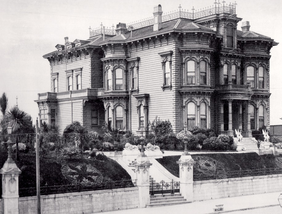 After the Thin Man was filmed at the de Young Mansion at 1919 California.