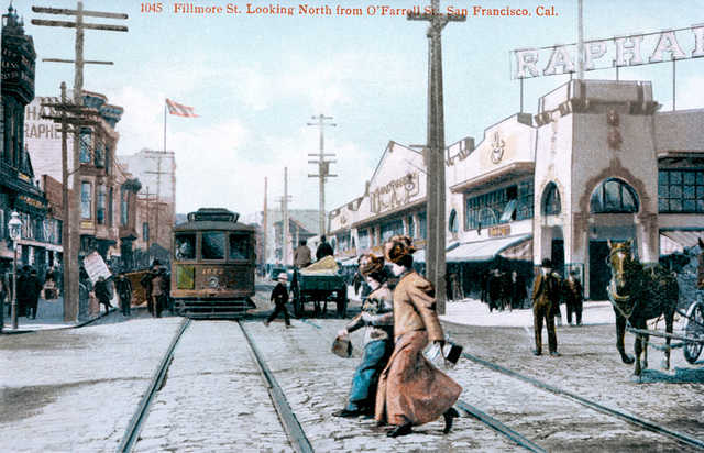 The Fillmore was mostly a Jewish neighborhood circa 1900, a legacy Wise Sons will honor.