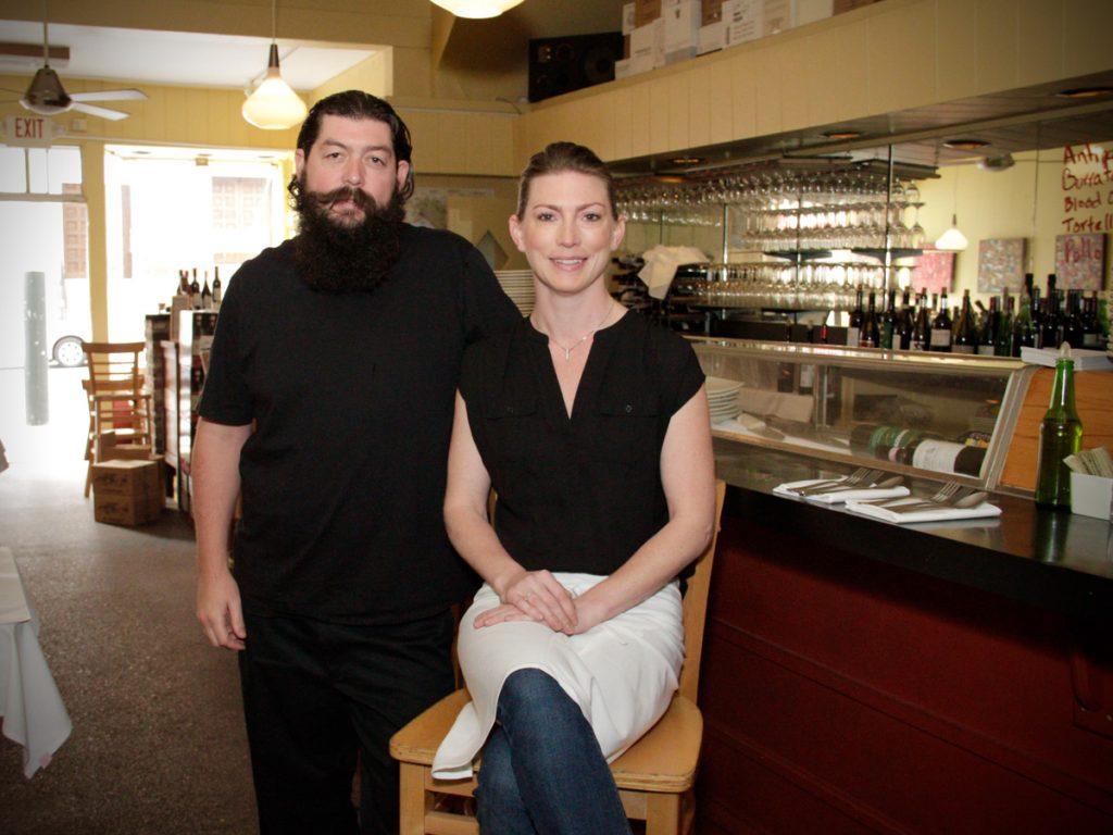 Owners Casey and Kelly Sullivan have been eating at Jackson Fillmore since they were kids.