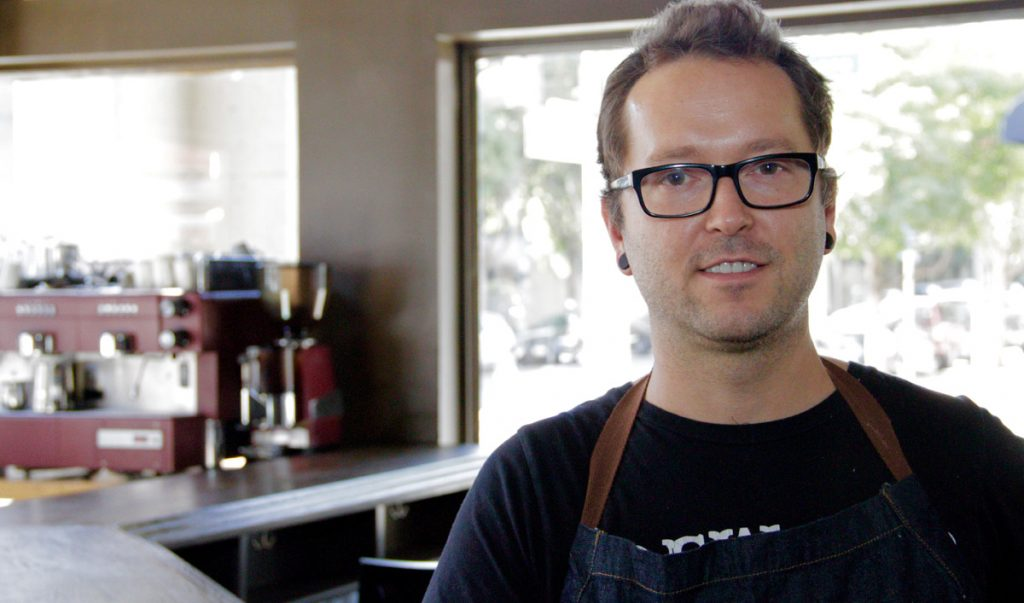 Nicholas Pallone was the new chef masterminding Academy Bar and Kitchen.