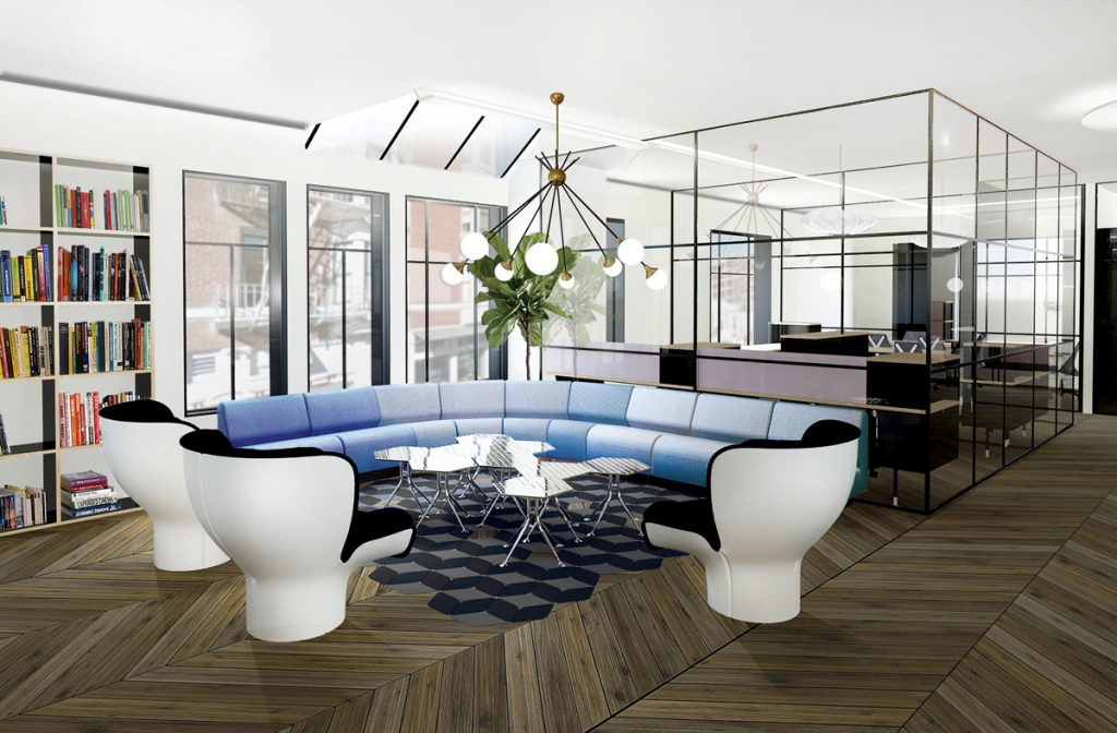 Canopy's workspace will feature furnishings designed by Yves Behar and others.