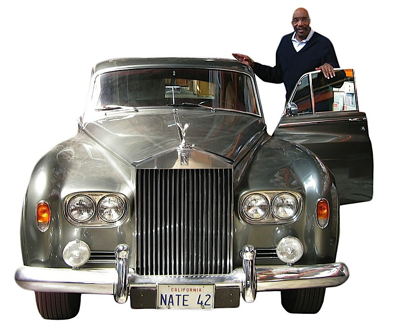 Nate Thurmond and his Silver Shadow were familiar sights in the neighborhood when he owned a restaurant on Fillmore Street.