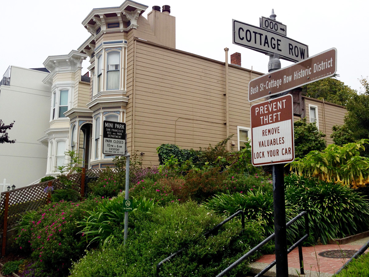 Cottage Row Zen garden sparks a fight | The New Fillmore