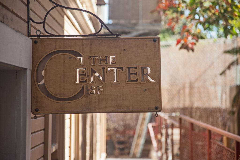 The Center SF is a sanctuary for artists and healers in the former Sacred Heart rectory.
