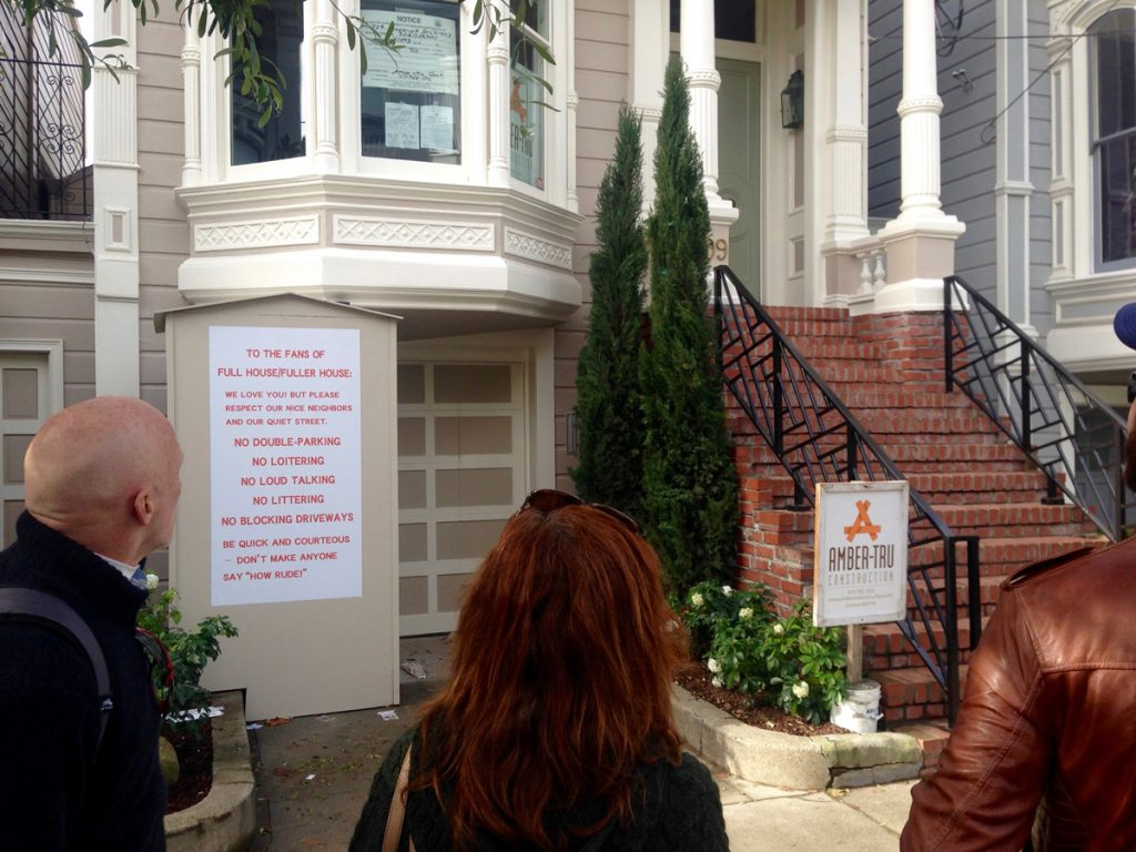 Fans of the Full House TV show flock to 1709 Broderick Street.
