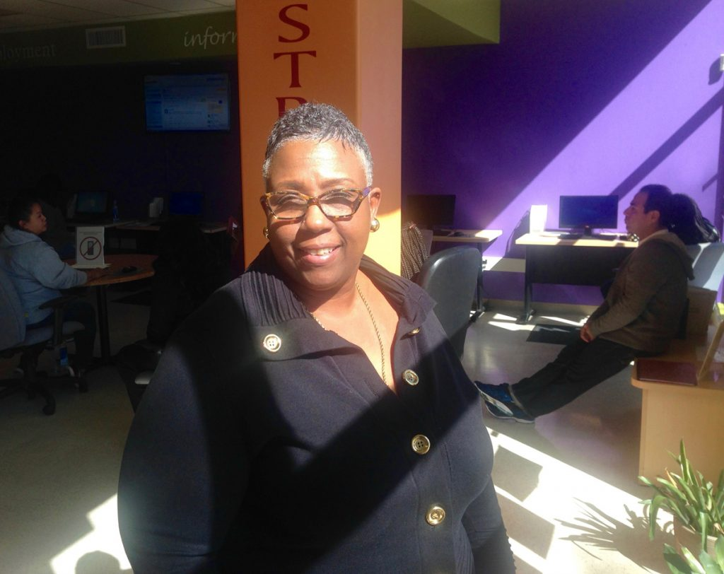 Liz Jackson-Simpson is the director of the Success Center.