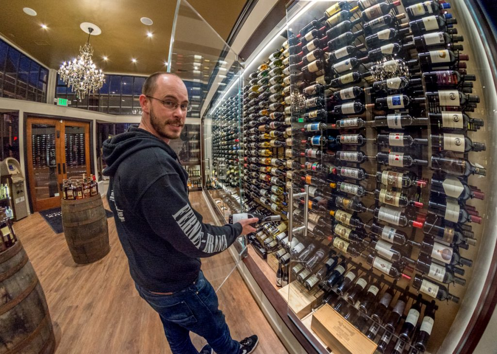 General manager Kyle Nadeau previously worked at D&M Wines and Spirits on Fillmore.