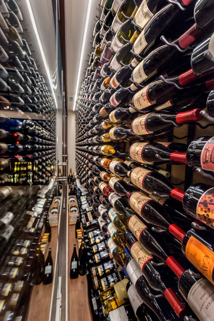 Maison Corbeaux offers a depth of collectible wines — especially older vintages.