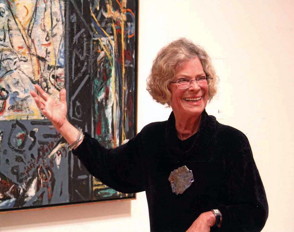 Jean Halvorsen leads private tours of the SF Museum of Modern Art.