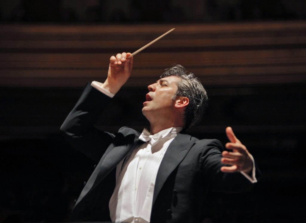 Photograph of San Francisco opera music director Nicola Luisotti by Cory Weaver