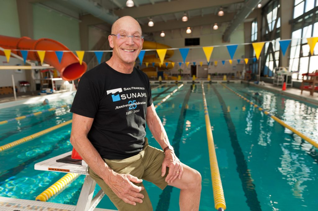 Neil Hart has been swimming at the pool at the Hamilton Rec Center for decades.