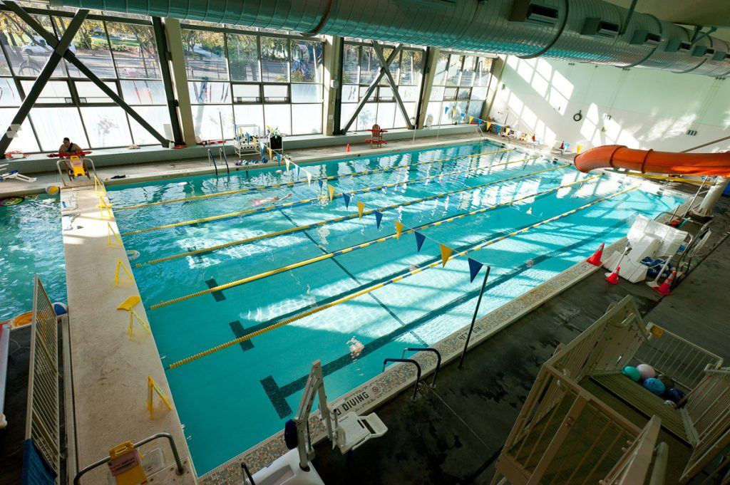 Photographs of Hamilton Rec Center by Daniel Bahmani