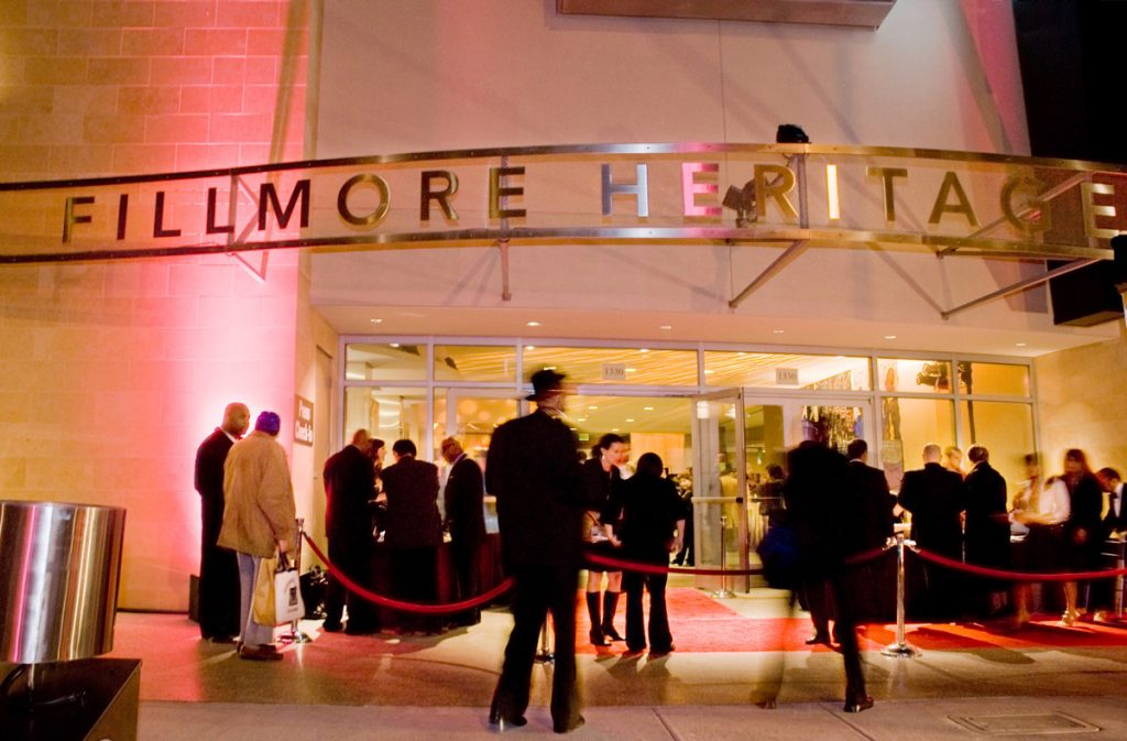 Opening night in November 2017 of the Fillmore Heritage Center, now empty for three years.